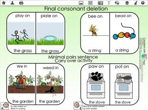 Finial Consonant Deletion