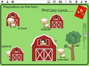 Lamb proposition on the farm