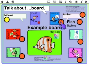 Talk About Example Board
