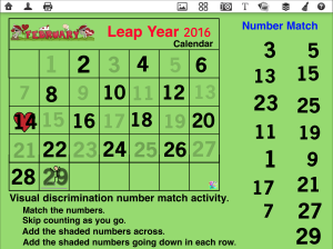 Leap Year Math Odd Numbers