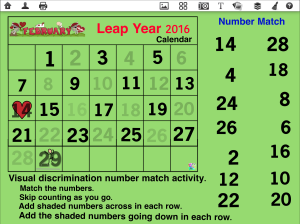 Leap Year Math Even Numbers